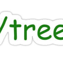 R/Trees Sticker