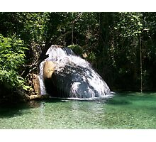 Huatulco Paradise Hidden Waterfall  Photographic Print