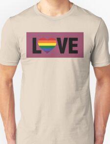 Pride Love Unisex T-Shirt