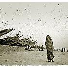 Locusts plague, Mauritania #6 by Mauricio Abreu