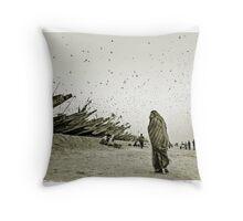Locusts plague, Mauritania #6 Throw Pillow