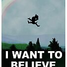 I Want To Belive (Leprechaun) by robotplunger