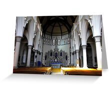 St. Mary RC Fleetwood Greeting Card