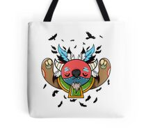 Monster Shaman Tote Bag