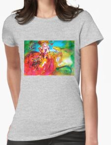 MIRANDOLINA / Venetian Masquerade Party Womens Fitted T-Shirt