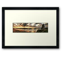 The Men's Strand - Ballybunion Framed Print