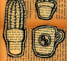 Literary Cactus Breakfast by consolecadet