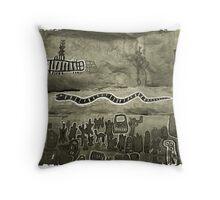 Dogon country, Mali #4 Throw Pillow