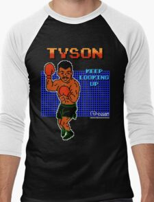 Neil deGrasse Tyson's Punch Out!! Men's Baseball ¾ T-Shirt