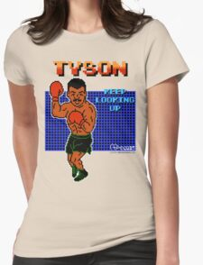 Neil deGrasse Tyson's Punch Out!! Womens Fitted T-Shirt