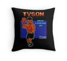 Neil deGrasse Tyson's Punch Out!! Throw Pillow