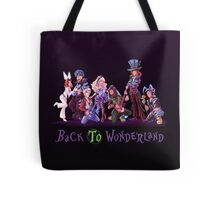 Back to Wonderland Tote Bag