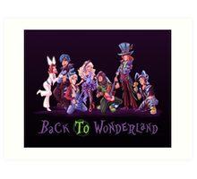 Back to Wonderland Art Print