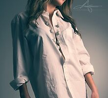 White Shirt III by Andreas Stridsberg