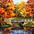Fall Blinks — Buy Now Link - www.etsy.com/listing/125406391 by Leonid  Afremov