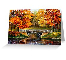Fall Blinks — Buy Now Link - www.etsy.com/listing/125406391 Greeting Card
