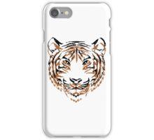 Orange & Black Tiger 2 iPhone Case/Skin