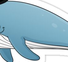 Sir whale Sticker