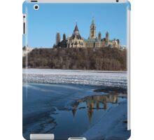Canada Parliament Buildings Ottawa River iPad Case/Skin