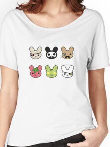 bunny faces - kawaii! Women's Relaxed Fit T-Shirt