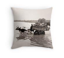 Djenné, Mali #32 Throw Pillow