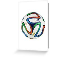 2014 FIFA World Cup Brazil match ball Greeting Card