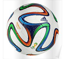 2014 FIFA World Cup Brazil match ball Poster