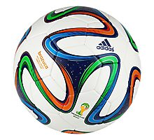 2014 FIFA World Cup Brazil match ball Photographic Print