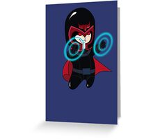 baby magneto (from x-men) Greeting Card