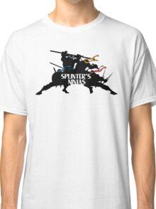 Splinter's Ninjas. Classic T-Shirt