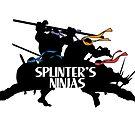 Splinter's Ninjas. by J.C. Maziu