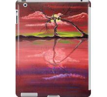 Original Pink landscape by ANGIECLEMENTINE iPad Case/Skin