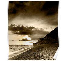 Jurassic Black and White - The Jurassic Coast World Heritage Site Series. Poster