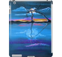 Original Blue Reflection landscape by ANGIECLEMENTINE iPad Case/Skin