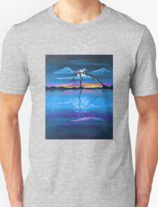 Original Blue Reflection landscape by ANGIECLEMENTINE Unisex T-Shirt