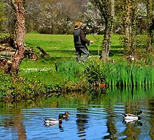 Gone Fishing...... by lynn carter