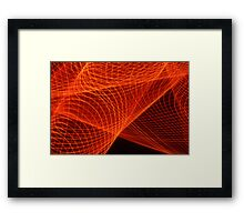Thought Patterns Framed Print