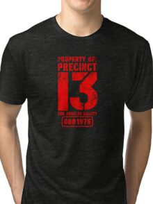 Property of Precint 13 Tri-blend T-Shirt