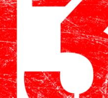 Property of Precint 13 Sticker