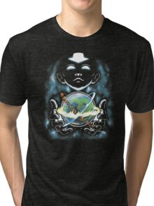 Whole World in His Hands Tri-blend T-Shirt