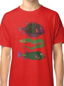 three ugly fish Classic T-Shirt