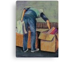 Moving House Canvas Print