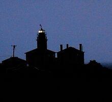 Last Light at the Lighthouse  by Jack McCabe
