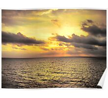 Ocean Cloud Poster