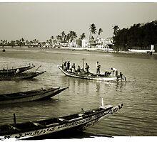 Saint Louis du Senegal #1 by Mauricio Abreu