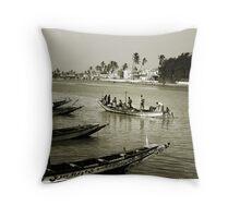 Saint Louis du Senegal #1 Throw Pillow