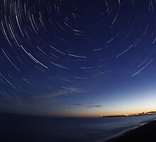 Headland Star Trails by unozig