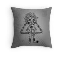 Jobu Throw Pillow