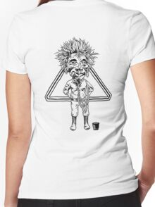 Jobu Women's Fitted V-Neck T-Shirt