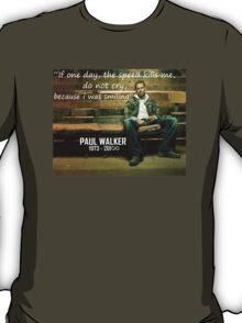 RIP PAUL WALKER T-Shirt